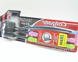 Colgate Charcoal Bristles Deeper Gentle Clean Toothbrush 0.0