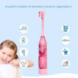 children automatic electric toothbrush ultrasonic tooth brus