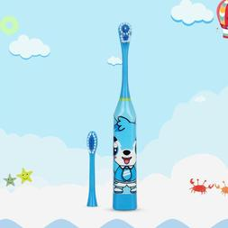 Children Automatic Electric Toothbrush Ultrasonic Waterproof