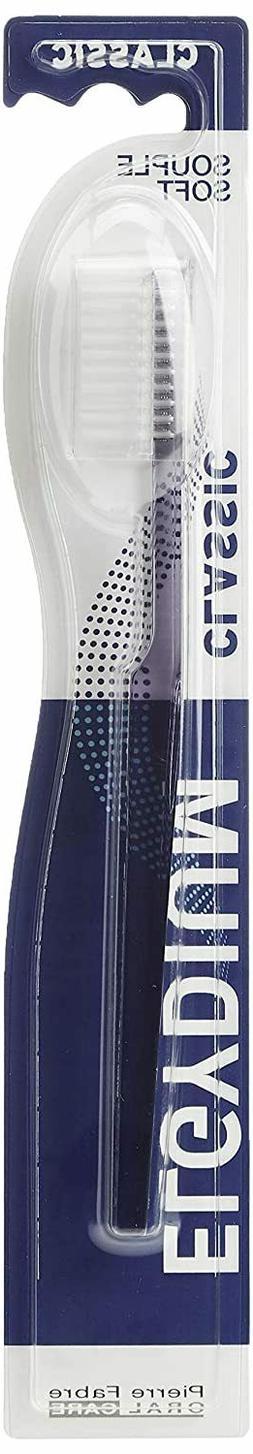 Elgydium Classic Toothbrush Imported Soft Bristle TWO BRUSHE