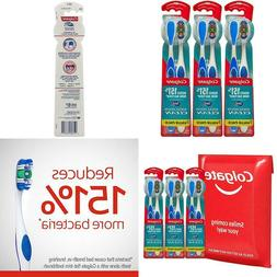 Colgate 360° Toothbrush With Tongue And Cheek Cleaner, Soft