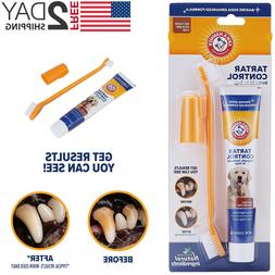 Dental Care Tartar Control Kit for Dogs Toothpaste, Toothbru