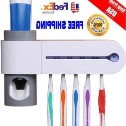 Dental UV Ultraviolet Toothbrush Sanitizer Sterilizer Cleane