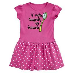Inktastic Dentist Toothbrush Dental Hygienist Infant Dress O