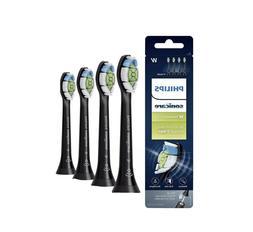 Philips Sonicare DiamondClean Black Toothbrush Head, 4 Pack,