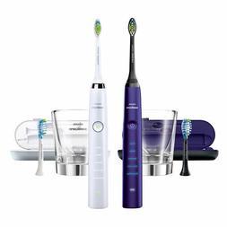 Philips Sonicare DiamondClean Electric Toothbrush 2-handle P