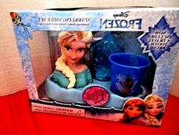 Disney Frozen Elsa Sparkling Smile Toothbrush Set of 3 Items