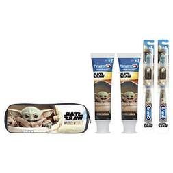 DISNEY THE MANDALORIAN BABY YODA TOOTHBRUSH AND TOOTHPASTE P