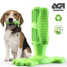 Dog Toothbrush Chew 5 Colors Cleaning Toy Silicone Pet Brush