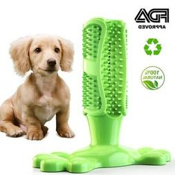 Dog Toothbrush Chew Stick Cleaning Toy Silicone Pet Brushing