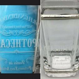 BELLA LUX Dr H Gnadendorff Apothecary Glass Toothbrush Holde