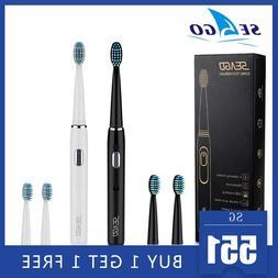 SEAGO Electric <font><b>Toothbrush</b></font> <font><b>Recha