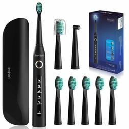 Electric Sonic Toothbrush with Travel Case Fairywill Fully W