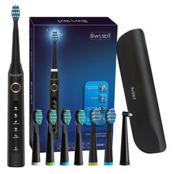Fairywill Electric Toothbrush Rechargeable for Travel 5 Mode