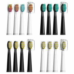 Fairywill Electric Toothbrush Replacement Brush Heads for FW