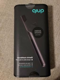QUIP Electric Toothbrush SPECIAL EDITION! All-Black metal