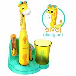 Brusheez Childrens Electronic Toothbrush Set - Includes Batt