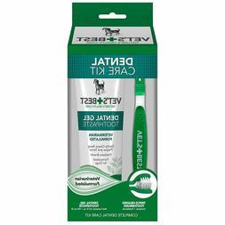 Vet's Best Enzymatic Dental Gel Toothpaste Kit for Dogs - Br