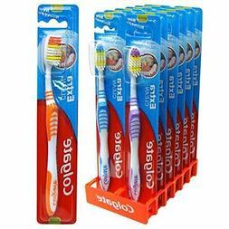 Colgate Extra Clean Toothbrush, MEDIUM Full Head 12 Pack.