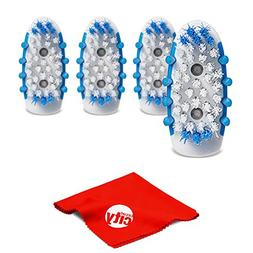 Go Smile Extra Replacement Brush Heads for Sonic Blue Whiten