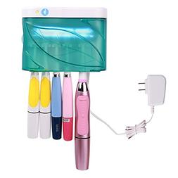 UV Toothbrush Sanitizer Wall Mounted Toothbrush Holder Steri