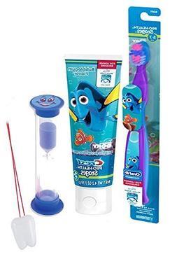 Disney Finding Dory 3pc Bright Smile Oral Hygiene Set! Dory