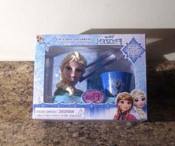 Disney FROZEN ELSA Gift Sparkling Smile Set Toothbrush Holde
