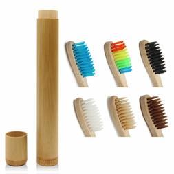 Genkent 1 PCS Bamboo Toothbrush Novelty Wooden Teeth Brush s