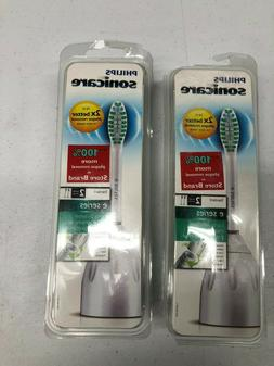 Genuine Philips Sonicare E-Series Toothbrush heads 2 PACKS o
