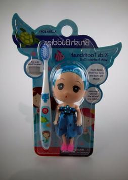 Brush Buddies Girls Kids Mermaids Toothbrush with Blue Fashi