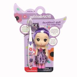 Brush Buddies Girls Kids Owls Toothbrush with Fashion Doll
