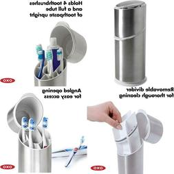 Good Grips Stainless Steel Toothbrush Organizer