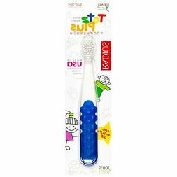 Radius - Totz Plus Silky Soft Toothbrush for Ages 3 + White