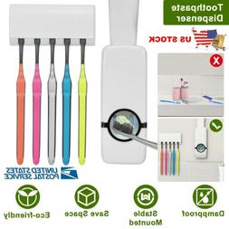 hands automatic toothpaste dispenser toothbrush