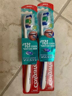 Colgate 360 Full Head Toothbrush, Medium, 1 ea