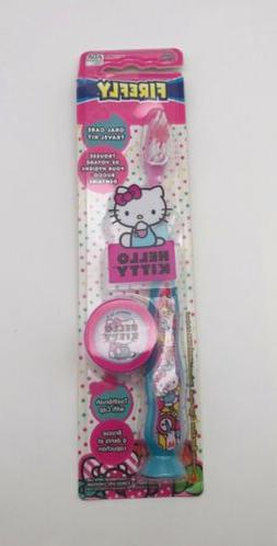 Hello Kitty Travel Kit Suction Cub Toothbrush with Cap