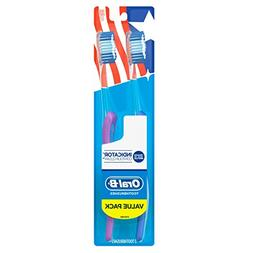 Oral-B Indicator Contour Clean Soft Toothbrush Twin Pack, 2