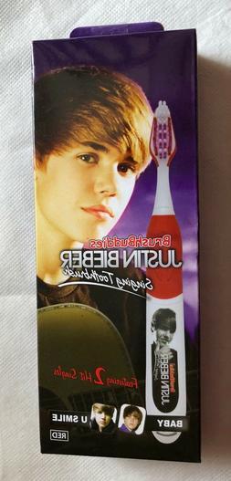 Brush Buddies Justin Bieber Singing Toothbrush - 2 Hit Singl