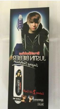 Brush Buddies Justin Bieber Singing Toothbrush Blue-Somebody