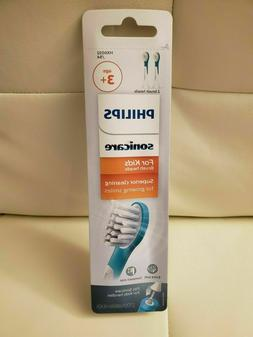 Philips Sonicare For Kids 2 Toothbrush Heads Replacement HX6