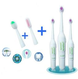 Kids&Adult Electric Toothbrush Replacement 3 Brush Heads AA