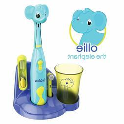 Brusheez Kids Electric Battery Powered Toothbrush Set - Olli
