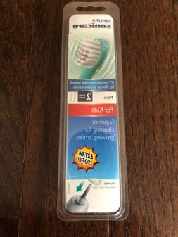 Philips Sonicare for Kids Replacement Toothbrush Heads 2-PK