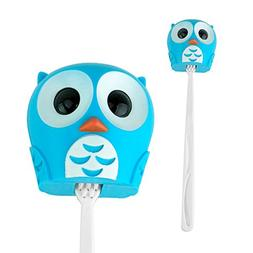 Kikkerland Toothbrush Cover Holder Case Toiletry Cute Owl Ki
