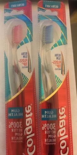 Colgate Gum Health Ultra Slim Floss Tip Extra Soft Toothbru
