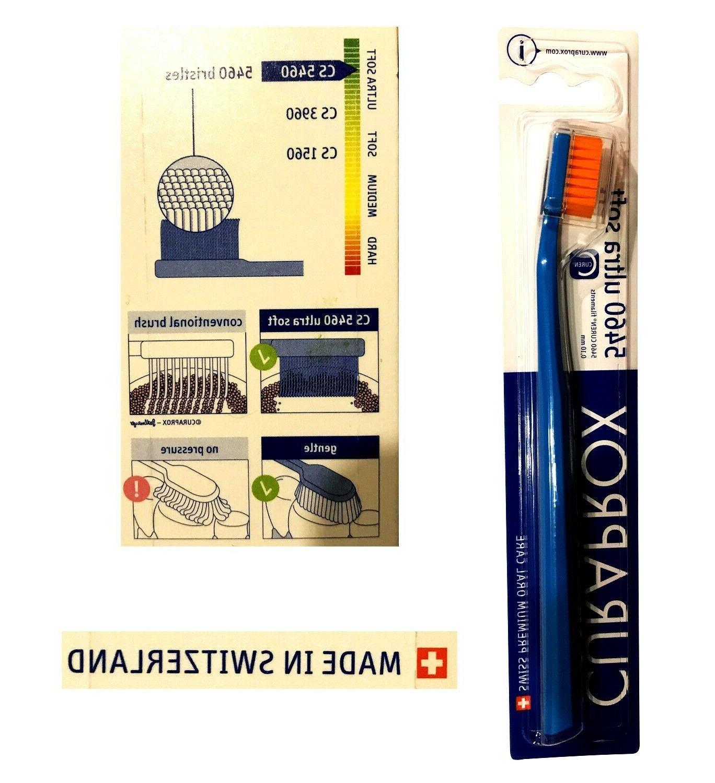 1 x CURAPROX CS 5460 Toothbrush Ultra Soft Tooth Brushe Swis