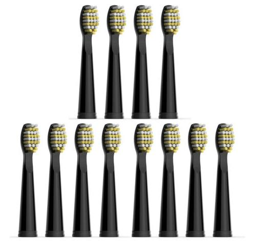12 firm bristles electric toothbrush heads replaced