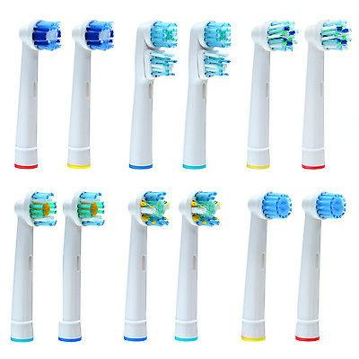 12x Electric Toothbrush Head Replacement for Braun Oral B Di