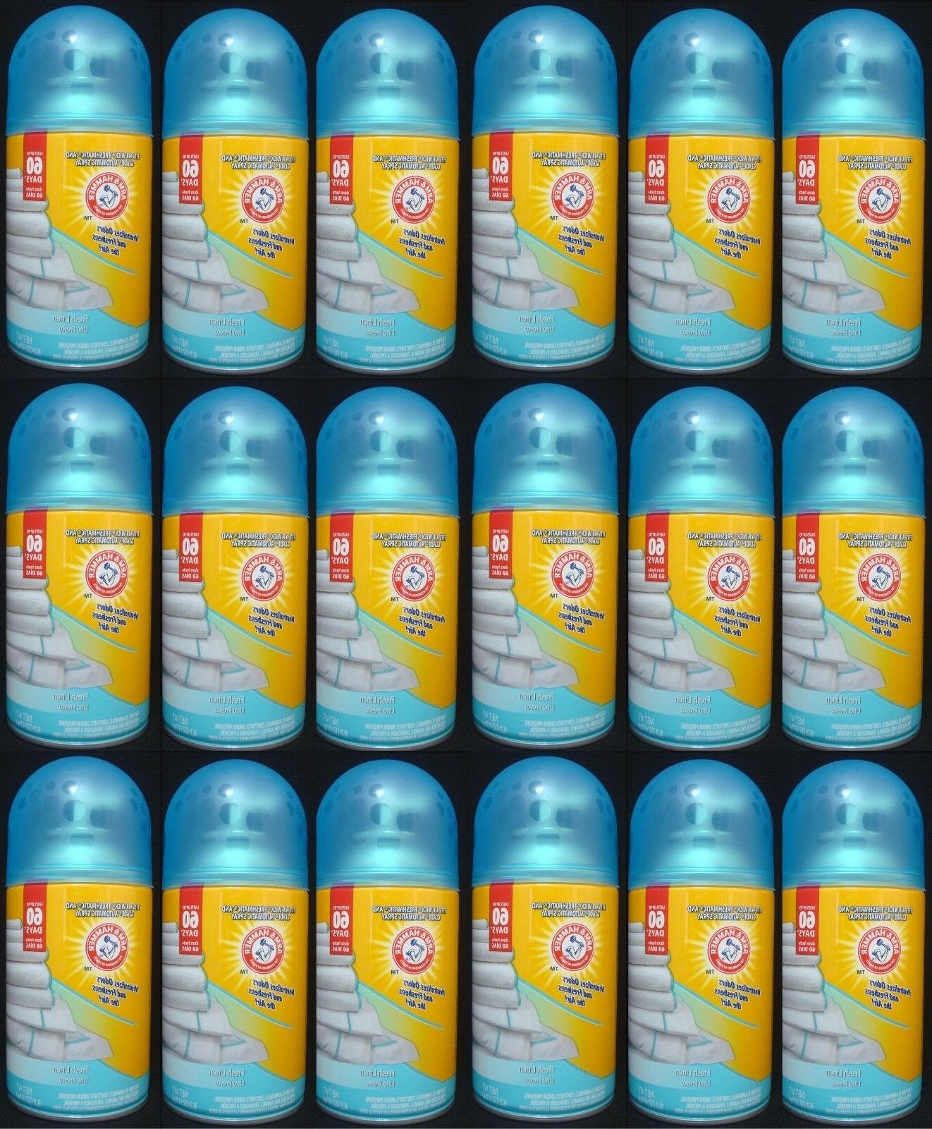 18 Arm & Hammer Fits Air Wick Freshmatic & Glade Spray Refil