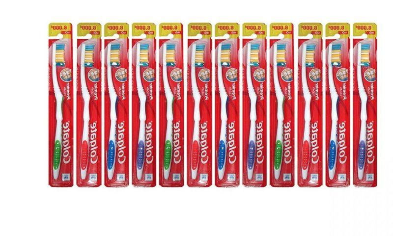 18 pack colgate toothbrush firm hard full